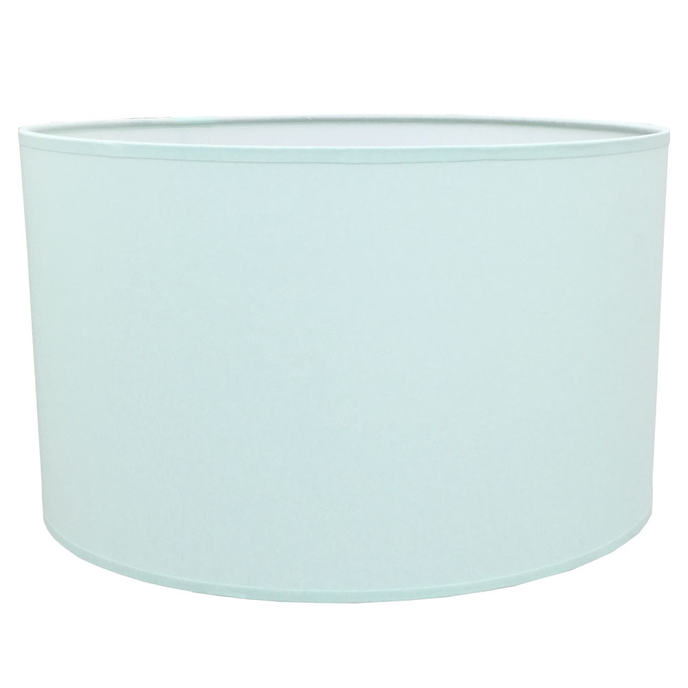 Drum Table Lampshade Pale Green